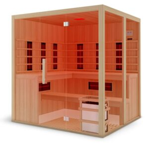 Large 6 person sauna